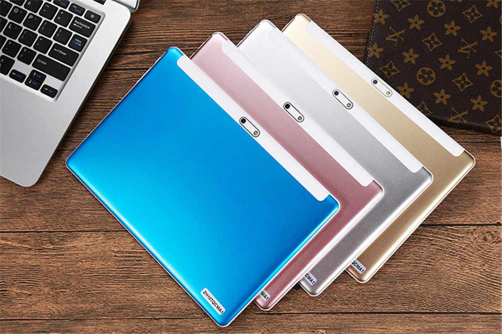 كمبيوتر لوحي 10 بوصة زجاج 2.5D نظام تشغيل أندرويد 7.0 OS MTK8752 ثماني النواة 4GB RAM 64GB ROM 8 النوى بلوتوث واي فاي شبكة الجيل الرابع