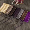 Шелковое полотенце для подушки комфорт 1500 нитей количество морщин  выцветание и устойчивость к пятнам наволочки гипоаллергенный стандартн...