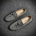 2017 Brand New Summer Causal Shoes Men Loafers Genuine Leather Moccasins Men Driving Shoes High Quality Flats For Man Soft Shoes