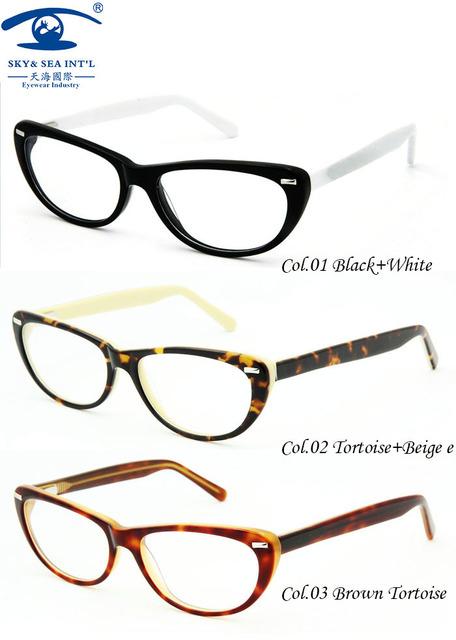 Novos oculos de grau feminino Sexy Olho de Gato Do Vintage Óculos Femininos Óculos de sol Mulheres Óculos de Prescrição em Clear Lens