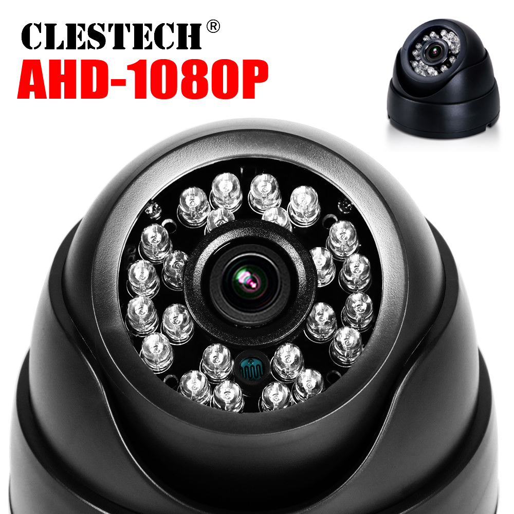 6.28 Hot Sale Real Full Dome AHD CCTV Camera 720P/960P/1080P 3000TVL HD Digital 2.0MP Indoor IR-CUT 24led Infrared Dome Vidicon