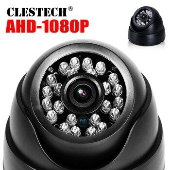 6.28 hot Sale Real Full Dome AHD CCTV Camera 720P/960P/1080P 3000TVL HD Digital 2.0MP Indoor IR-CUT 24led Infrared dome Vidicon