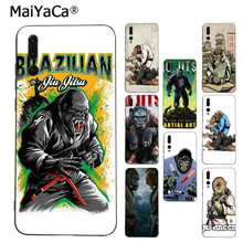 Maiyaca Brazilian Jiu Jitsu DIY Dicat Coque Phone Case untuk Huawei P9 P10 Plus Mate9 10 Mate10 Lite P20 Pro honor10 View10(China)