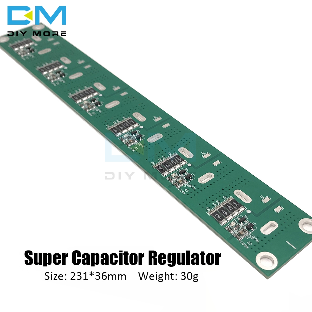 Single Row <font><b>Super</b></font> Farad <font><b>Capacitor</b></font> Balancing Protection Board 2.5V <font><b>2.7V</b></font> 2.85V 3V 360F <font><b>400F</b></font> 500F 700F <font><b>Capacitor</b></font> Protection Board image