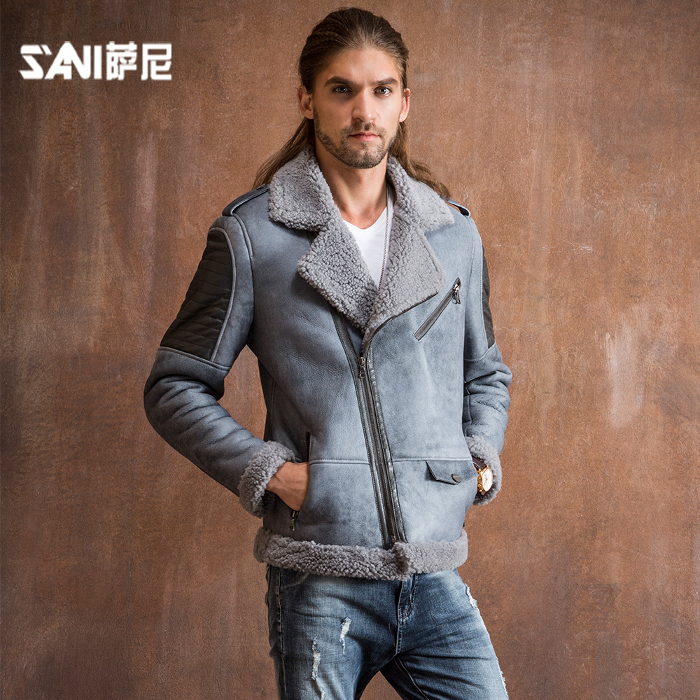 Aliexpress.com : Buy 2017 Real Double faced Fur Coat for men ...