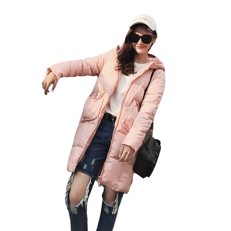 Winter Coat Women Hooded Parka Coats 2017 Thick Big Pockets Warm Winter Jackets Female Casual Down Cotton Coats Outerwear C3599 dk readers l3 helen keller