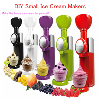 1pc Ice Cream Maker Machine High Quality Frozen Fruit Dessert Household Colorful Ice Shakes Crusher