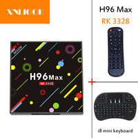 2018 Factory Outlet Cheap H96 MAX Newest RK3328 Quad core 4GB RAM 64GB ROM Android 7.1 TV BOX H96 MAX H2 4K BT4.0 VP9 HDR10 Medi