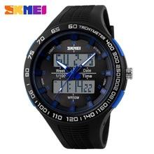 2017 Esportes Novos Homens Relógios LED Digital Quartz Watch Militar Ao Ar Livre Grandes Relógios Para Homens À Prova D' Água relógios de Pulso Montre Homme