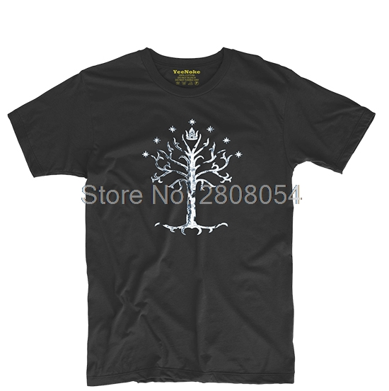 3b37487e Tree of Gondor Lord of the Rings Movie Mens & Womens Cool Tee Baseball T  shirt