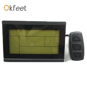 Image 2 - Okfeet KT LCD3 Display ebike LCD Display Electric Bicycle LED 72V LCD3 kt lcd for Electric Bike Controller