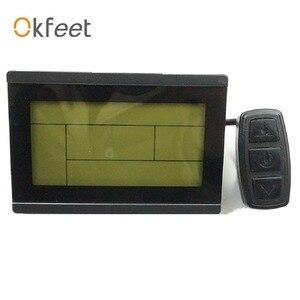 Image 2 - Okfeet kt lcd3 display ebike display lcd bicicleta elétrica led 72 v lcd3 kt lcd para controlador de bicicleta elétrica