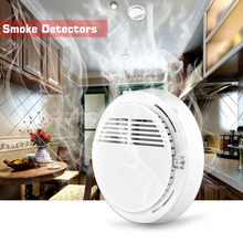 Wireless Smoke Fire Detector Alarm 433MHz Stable Photoelectric For Home House Office GSM SMS Alarm Systems