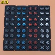 JCD Silicone Joystick Nắp Bảo Vệ Cho Nintend Switch NS Đính Đá Một Crown Cần Điều Khiển Cầm Nút Nắp Bao Da