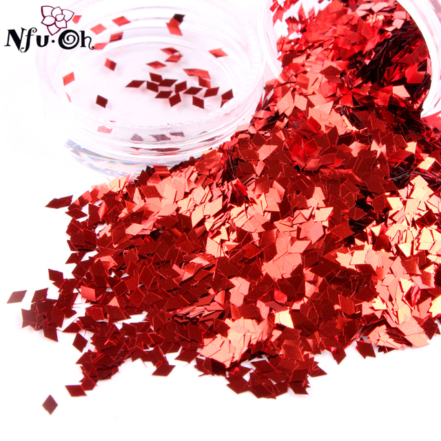 10pcs/lot  nail art  hexagon glitter with 24colors, each pot with 10g, free shipping, 24 colors