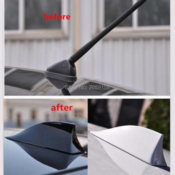 Car Shark Fin Antenna Auto Radio Signal Aerials Roof Antennas for kia sportage 2017 peugeot 407 audi a4 b8 ford focus 2 opel image
