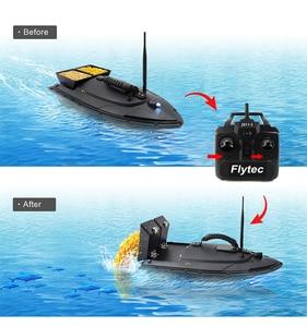 Image 5 - Flytec 2011 5 เครื่องมือตกปลาสมาร์ท RC เหยื่อเรือของเล่นมอเตอร์ Fish Finder รีโมทคอนโทรลตกปลาเรือ Speedboat 500 เมตร