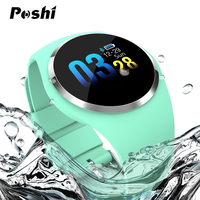 Luxury Blood Pressure Monitor Smart Watch Waterproof Calorie Pedometer Sport Wristwatches Anti Lost Women's Bracelet Android ios