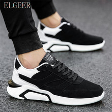 2018 Spring and Autumn Hot Black High Quality Men Casual Shoes Mixed Colors New Style Male Sneakers Student Flat