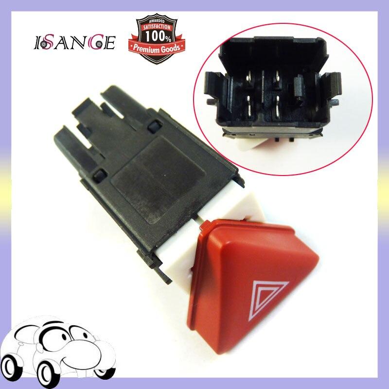 ISANCE Warning Emergecy Flash Switch Button 1K0953509A   18G 953 509 Fit 05-10 VW Jetta Golf MK5 GTI Rabbit WholesaleRetail