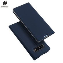 DUX DUCIS หนังกรณีพลิกสำหรับ Samsung Galaxy S10 Coque สำหรับ Samsung Galaxy S10 PLUS E S 10 S10E S10 5G Funda