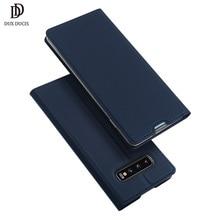 DUX DUCIS deri Flip Case Samsung Galaxy S10 Coque cüzdan kılıf kapak Samsung Galaxy S10 artı e r e r e r e r e r e r e r e r e r e r 10 s10e S10 5G Funda