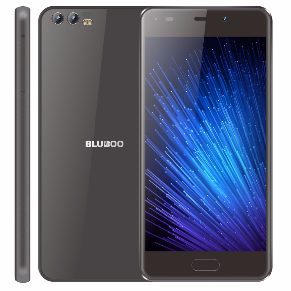 BLUBOO D2 5.2'' 3G Smartphone MTK6580A Quad Core 1.3GHz Android 6.0 1G RAM 8G ROM Dual Rear Camera 3300mAh Mobile Phone WCDMA