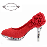 2013 Brand Women Wedding Shoes Red Bottoms Platform Wedge High Heels Sexy Woman Pumps Ladies Pointed