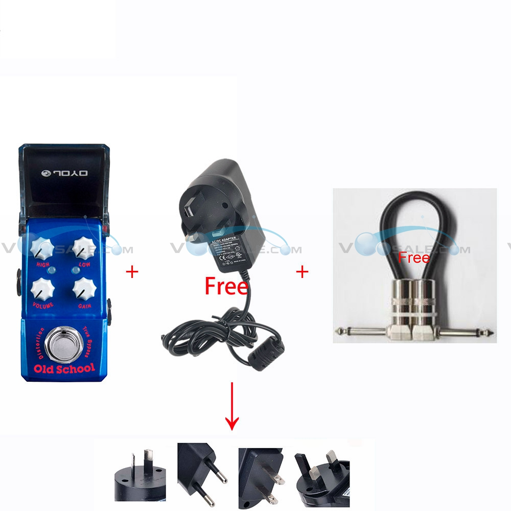 JOYO JF-313 Old School Mini Effects Guitar Pedal with True Bypass Guitar Accessories Parts Mini Design+Free a Adapter and CableJOYO JF-313 Old School Mini Effects Guitar Pedal with True Bypass Guitar Accessories Parts Mini Design+Free a Adapter and Cable