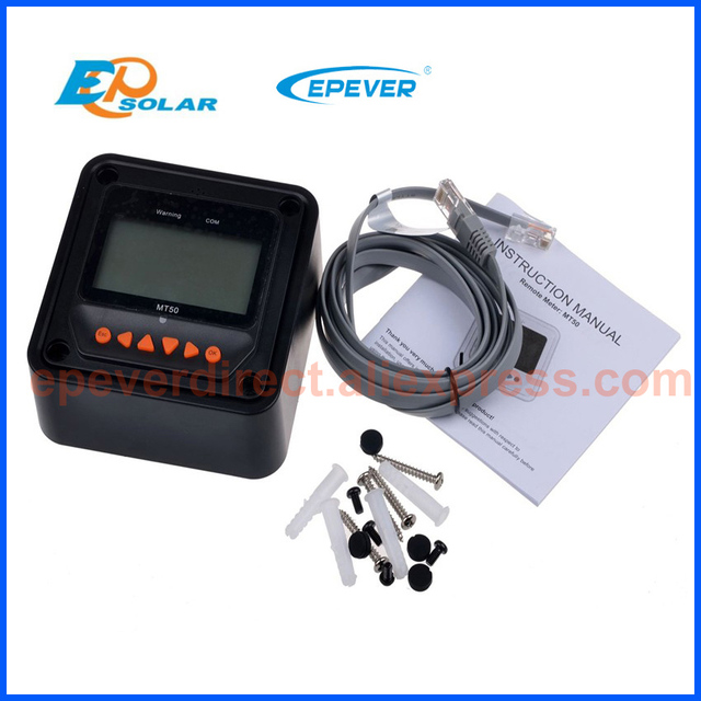 Contrôleur de Charge solaire LCD EPEVER | Traceur 1210AN 3210AN 4210AN 10A 20A 30A 40A MPPT 1210A 2210A 3210A 4210A