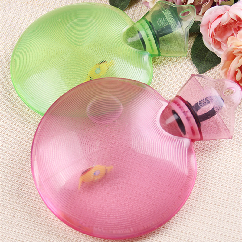 PVC round rubber water filling hot bag explosion-proof transparent hand warmer ice baby warm irrigation