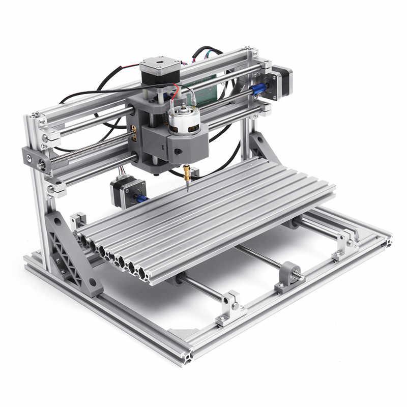 DANIU 3018 3 axes Mini bricolage CNC routeur w/2500 mW Laser Module gravure sur bois découpe fraisage graveur Machine