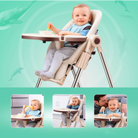 Adjustable High Chair For Babies Eating Seats Dining Table Multi function Foldable Portable Baby Feeding Chair