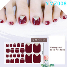 Toenail Sticker Full Cover Waterproof Non-toxic Nail Art Manicure KG66
