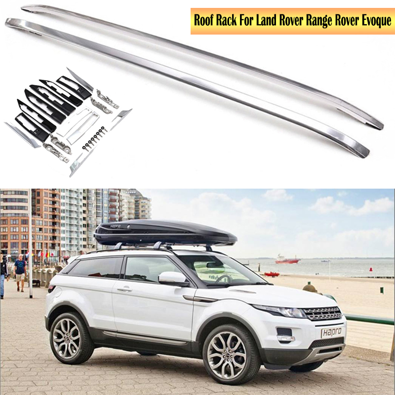 Roof Rack For Land Rover Range Rover Evoque 2012-2019 Racks Rails Bar Luggage Carrier Bars top Racks Rail Boxes Aluminum alloy image
