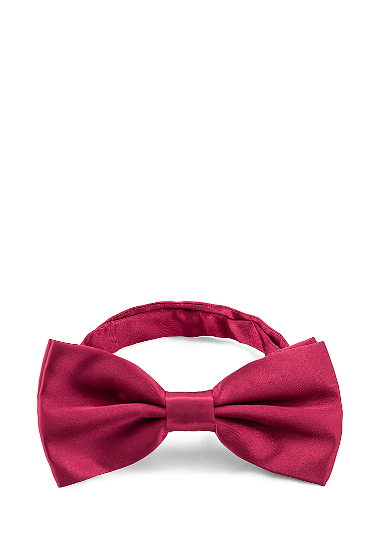 [Available from 10.11] Bow tie male CASINO Casino-poly-Bordeaux rea. 6.72 Wine Red bow tie pleated frill placket blouse