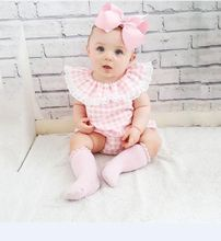 Newborn Baby Girl Romper Floral Sunsuit Summer Clothes Outfits 0-18M 2019 Hot Sale