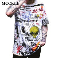 MCCKLE Mens Short Sleeve T-shirt Hip Hop Tee Shirt ...