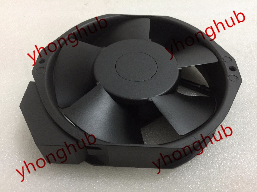Free Shipping Emacro MECHATRONICS UF15AC23 BTH AC 230V 27/26W 2-pin 172x172x38mm Server Square fan free shipping new uf 15pc23 bth ac 230v 29w 172x150x51 server round cooling fan