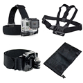 Gopro Hero 5 Accessories with Camera Strap for Gopro hero5/4/3+/2 Thieye i60 soocoo s70 c30 ex5000 xiaomi yi 4k action camera