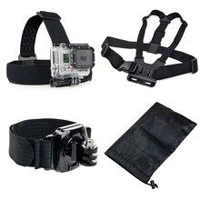 Tekcam для GoPro Hero 5 Аксессуары Ремни для камеры для GoPro Hero 5/4/3 +/2 thieye i60 soocoo на S70 C30 ex5000 Xiaomi Yi 4 K Action Cam