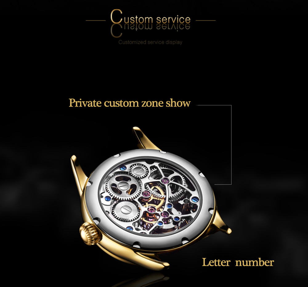 Tourbillon Watch GUANQIN Original watch Skeleton mechanical Sapphire Mens Watches Top Brand Luxury clock men Relogio Masculino 7
