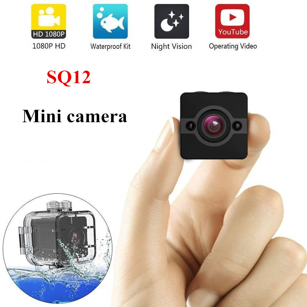 SQ12 petit Mini caméra cam Étanche degré objectif grand-angle HD 1080 p Grand Angle SQ 12 MINI Caméscope DVR Sport vidéo caméra