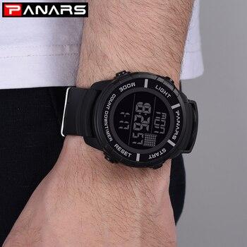 SYNOKE Men's Watches Luxury Brand Sport Dive 50m Digital LED Military Watch Men S Fashion Shock Electronics Wristwatches