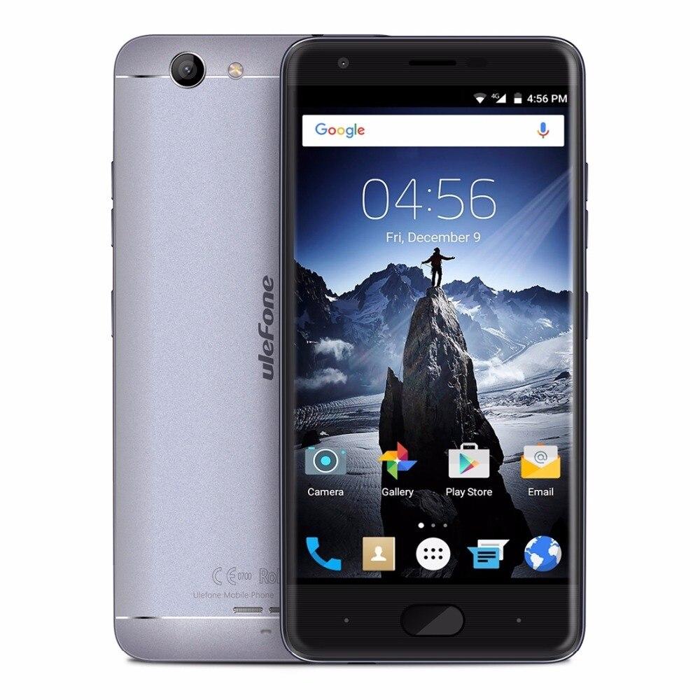 Original Ulefone U008 Pro 4G Smartphone 16 GB ROM 5.0 pulgadas Android 6.0 MT673