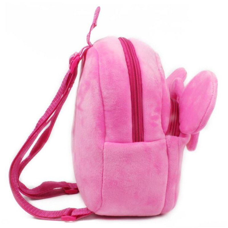 Baby-Girls-Super-Cute-Minni-Plush-School-Bags-Children-Backpackers-Kids-Birthday-Christmas-Gifts-2