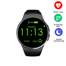 KW18 Bluetooth Smart Watch Fully HD IPS Wristwatch Support SIM TF Card Heart Rate Monitor Smartwatch Watch Clock Mic Anti lost