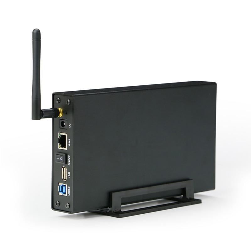 "Aluminium Hdd Fall 3,5 ""hdd Wireless Runter Box Hd Fall Sata Usb 3.0 Zu Für Hdd Ssd Bis Zu 6 Tb Mit Wireless Wifi Router Externe 100% Original"