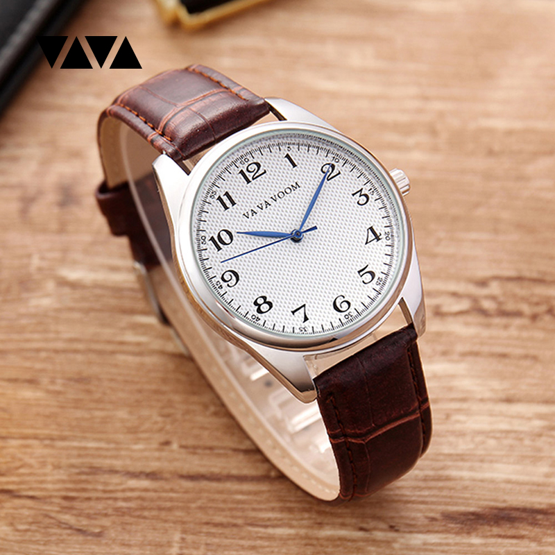 Relogio Masculino Watch Men Top Brand Luxury Quartz Wristwatches Leather Casual Business Watch Male Clock Male reloj hombre 2019 in Quartz Watches from Watches