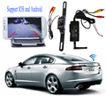 WIFI Transmitter Signal Repeater + waterproof quality Car Rear View Backup Camera Support for IOS Android phone pad monitor